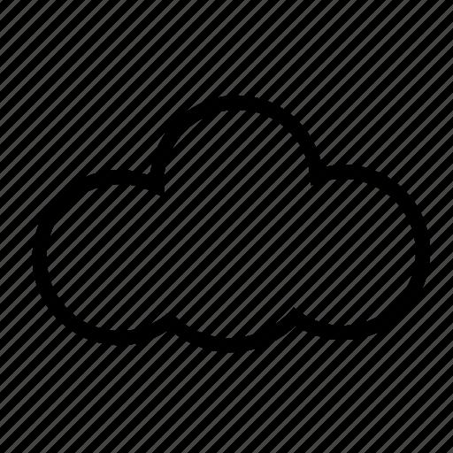 cloud, computing, hosting, rain, technology, weather icon