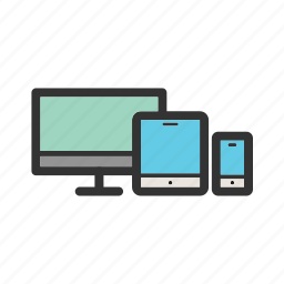 compatibility, computer, digital, keyboard, laptop, tablet icon