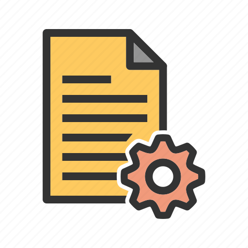 document, installation, internet, project, settings, web, work icon