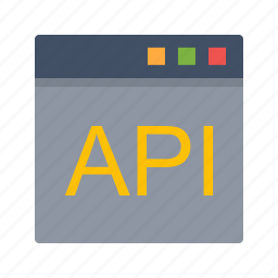 api, application, development, interface, programming, software icon