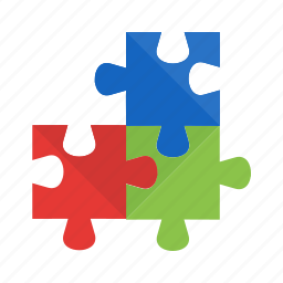 fit, idea, object, part, pieces, puzzle, shape icon