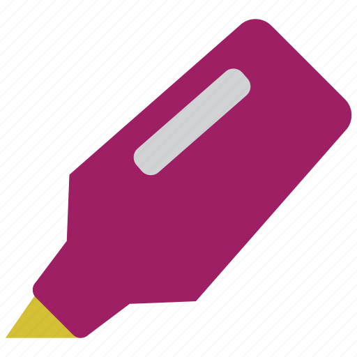 highlight, marker, note, office, pen, tool, tools icon