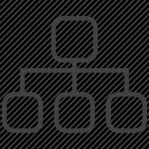 explorer, folder, folders, office, tool, tools, tree icon