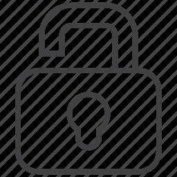 locked, office, open, tool, tools, unlock, unlocked icon