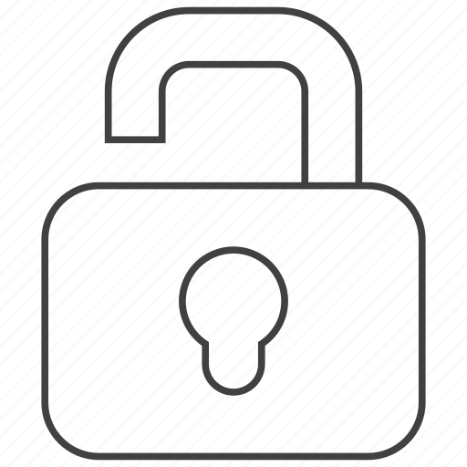 locked, office, open, tool, tools, unlock, unlocked icon