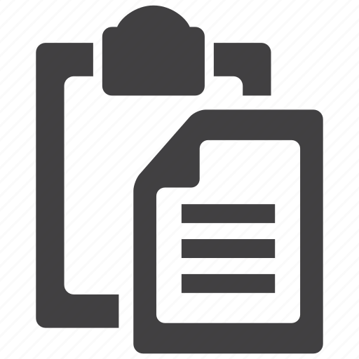 clipboard, document, file, office, paste, tool, tools icon