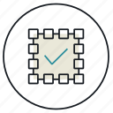all, grid, information, layout, select, selection, shape icon