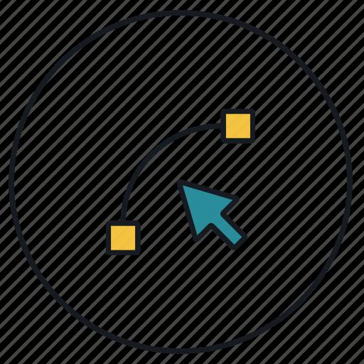 design, draw, graphic, line, tools icon