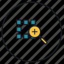 interface, loop, window, zoom