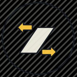 arrows, move, skew icon