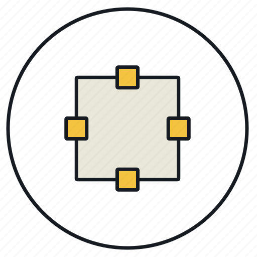 create, creative, design, draw, square, strokes icon