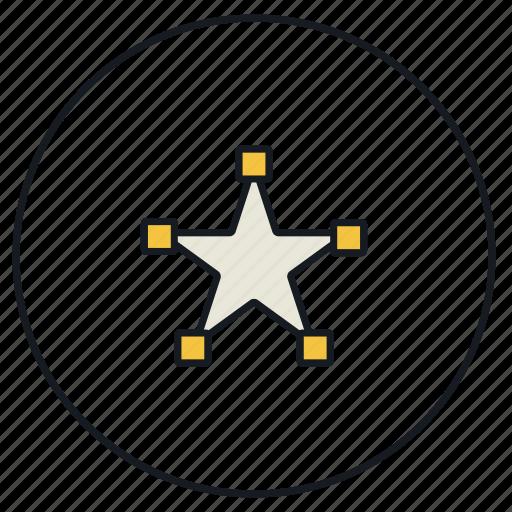 create, creative, design, draw, star, strokes icon