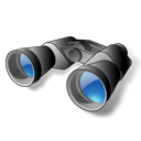 binoculars, find, search