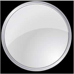 circle, grey icon