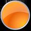 circle, orange icon