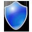antivirus, blue, protection, shield icon