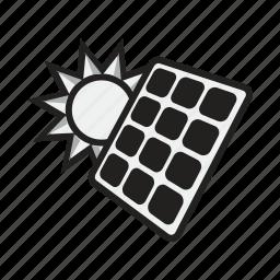 energy, module, panel, photovoltaic, power, solar, sun icon