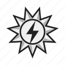 renewable, solar, solar energy, solar power, sun icon