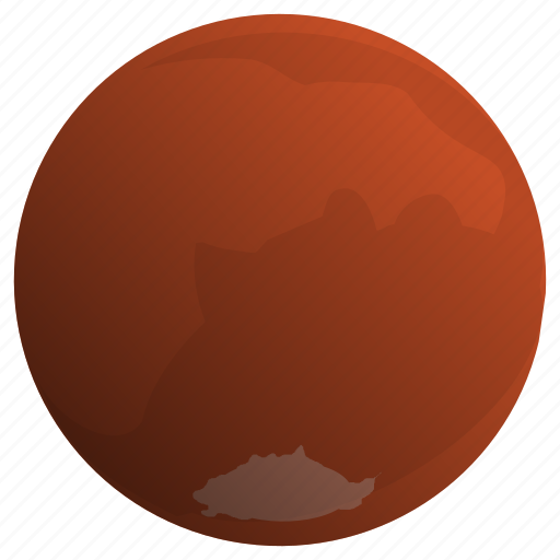 astronomy, mars, planet, solar, system icon
