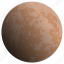astronomy, mercury, planet, solar, system icon