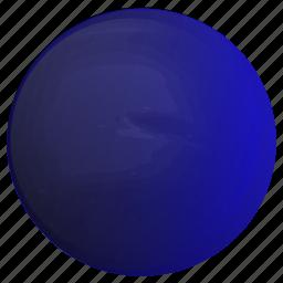 astronomy, neptune, planet, solar, system icon