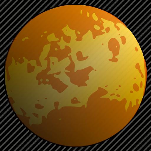 astronomy, planet, solar, system, venus icon