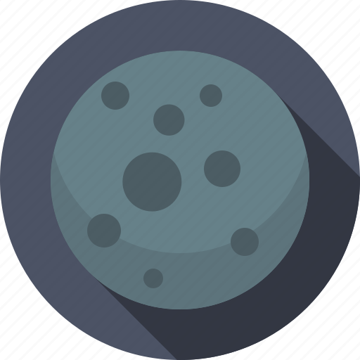 mercury, planet, solar system, space icon