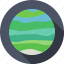 planet, solar system, space, uranus icon