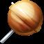 jupiter, lollypop, planet icon