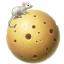 cheese, moon, mouse, planet icon