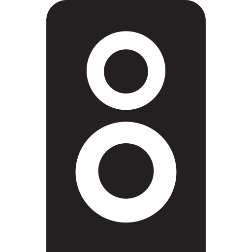 club, dance, music, night, sound, speaker icon