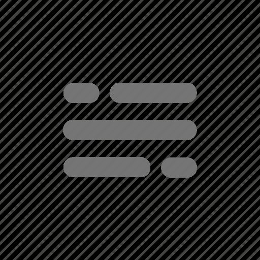 article, menu, text icon