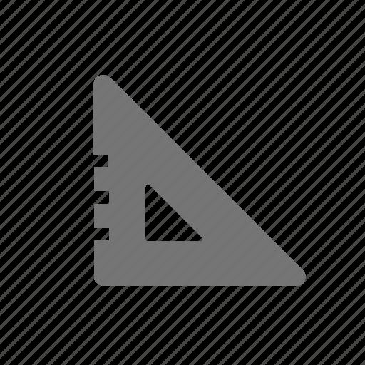 tool, triangle icon