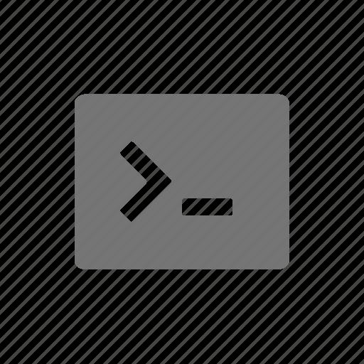 code, console icon