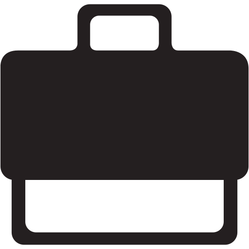 briefcase, business, chart, finance, money, office icon