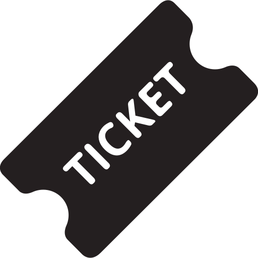 cinema, film, media, movie, ticket, video icon