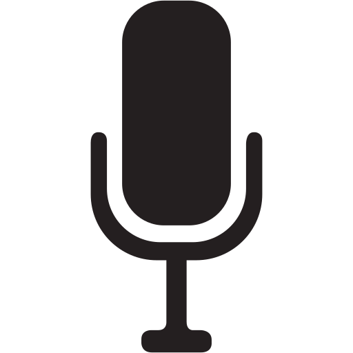 device, electronic, gadget, gadgets, microphone, record icon