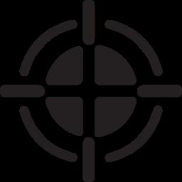 gun, hunting, shooting, target, weapon icon