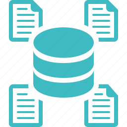 data mining, data warehouse, database icon