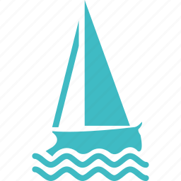 holiday, ship, travel icon