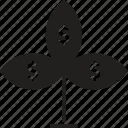 finance, grow, money, money grow, profit, rise, savings icon