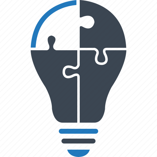 Implementation, skill, solution, idea, strategy icon