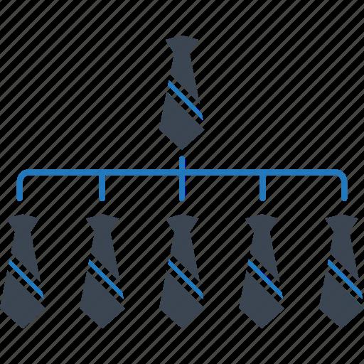 company, connection, management, marketing, organization, professionals, team icon