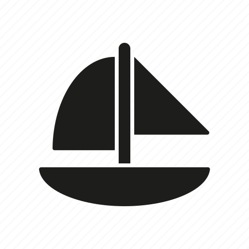 boat, children, sail boat, sailing, toy icon