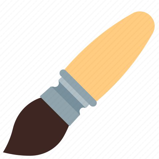 art, brush, office, paint, tool icon