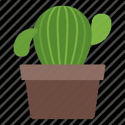cactus, interior, office, plant icon