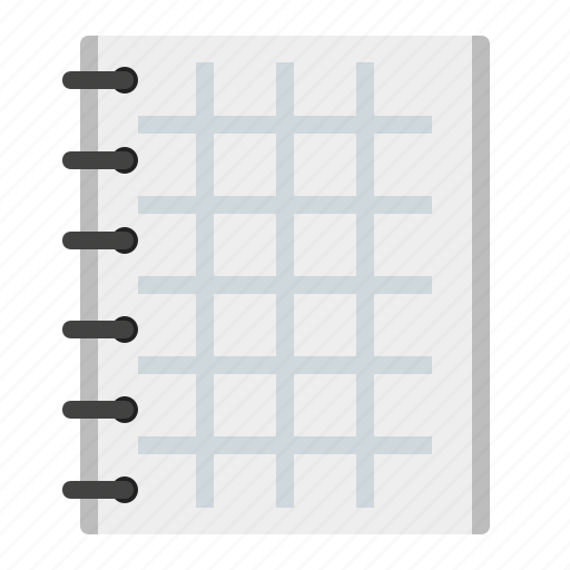 copybook, note, office, paper icon