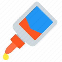 glue, office, paper, repair, work icon
