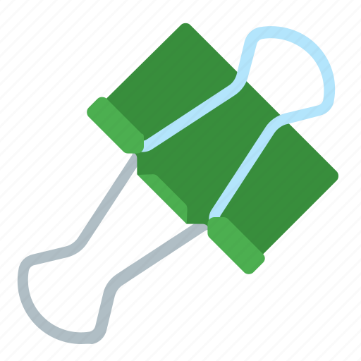 attached, clips, document, note icon