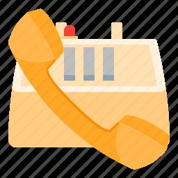 call, communication, office, phone, talk, telephone icon